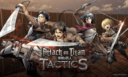 RTS Game 'Attack On Titan Tactics' Launches On Android