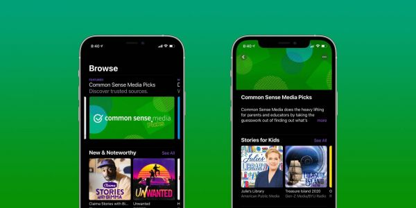 Apple Podcasts adds new kids recommendations in partnership with Common Sense Media