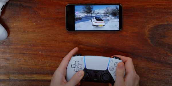 Sony's DualSense controller appears to play somewhat nicely with Android devices