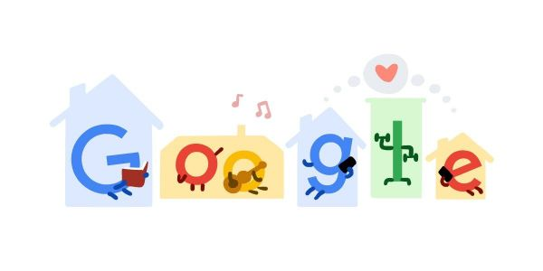 Google Doodle offers coronavirus tips, 'Stay Home. Save Lives.'