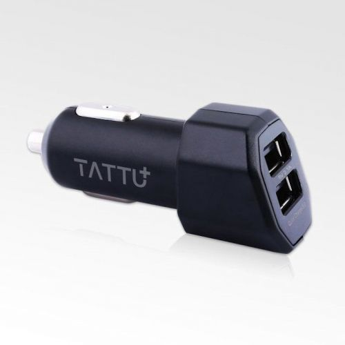 TATTU 30W Double USB Port Quick Charge 3.0 Car Charger