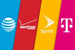 Verizon vs AT&T, T-Mobile and Sprint unlimited data plans price comparison