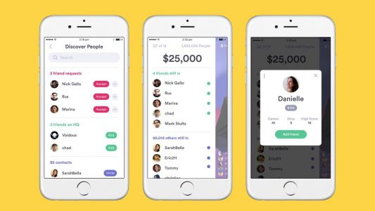 HQ Trivia adding new social features for head-to-head comparisons & more