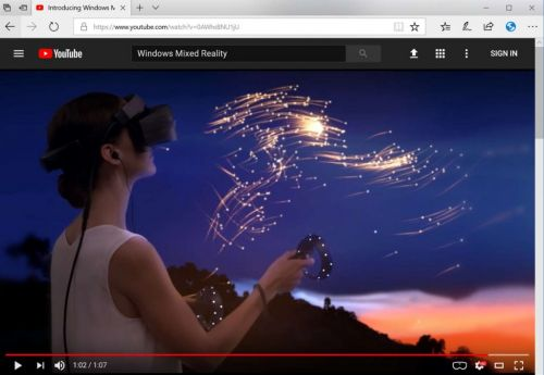 Windows 10 Tip: View 360° videos and photos in Microsoft Edge with your Windows Mixed Reality headset