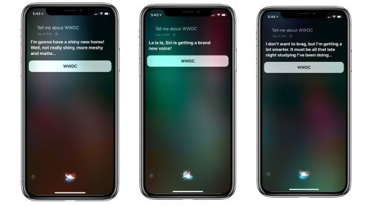 PSA: Asking Siri about WWDC does not reveal a new HomePod or anything else