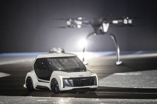 Audi Flying Taxi concept revealed