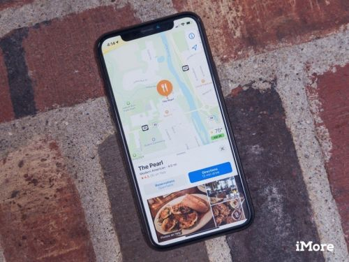 Make those reservations right from the Maps app