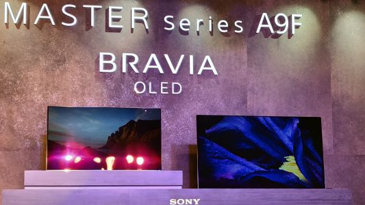 Sony A9F OLED TVs launched in India starting at Rs 3,99,900