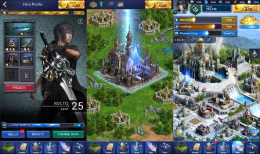 Sensor Tower - Final Fantasy XV: A New Empire made $375 million on mobile in 2018