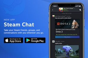 Valve launches Steam Chat app for Android and iOS