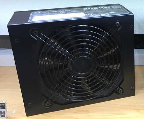 SilverStone Shows Off SST-ST2000-PT: 80Plus Platinum 2000 W PSU