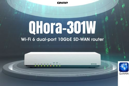 QNAP Launches QHora-301W: An Affordable Wi-Fi 6 Router with Dual 10GBASE-T Ports