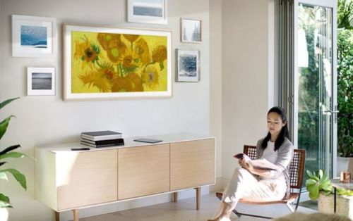 Samsung Brings More Artwork To Its 'Frame' TVs