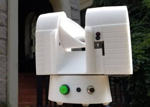 GeoTaker 3D scanner for large objects and architecture
