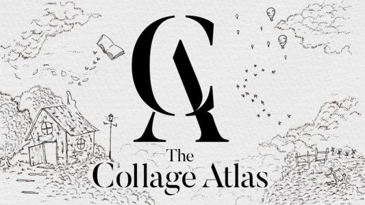The Collage Atlas is entirely hand-drawn, gorgeous, and on Apple Arcade now