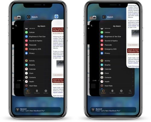How to Close Apps on iPhone X in iOS 12