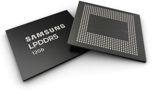 Samsung Starts Production of LPDDR5-5500 Devices: 12 GB of DRAM in a Smartphone