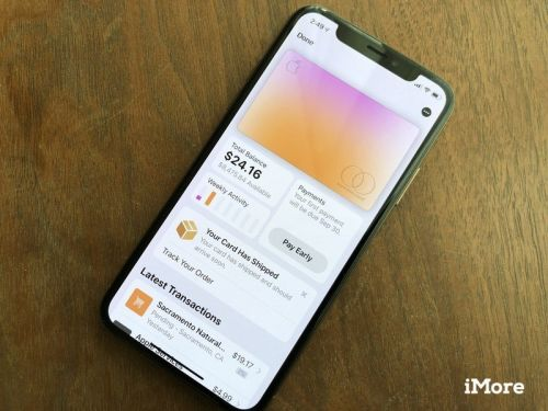 Apple Card's upcoming iPhone financing details appear in the Wallet app