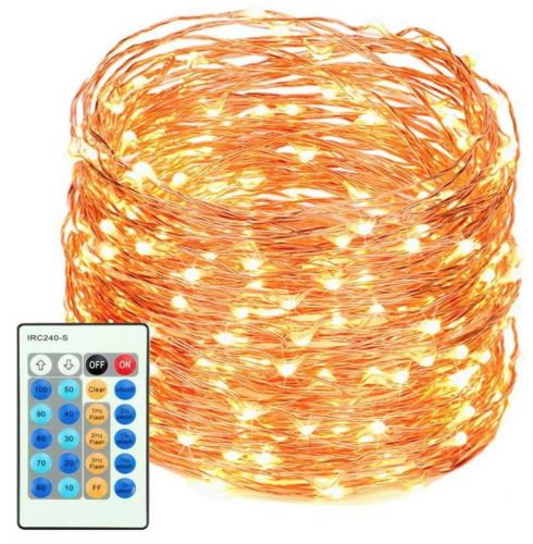 Make any room cozy with these LED string lights