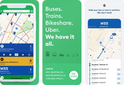 Transit App Expands Real-Time Crowdsourced Data to 175 Cities
