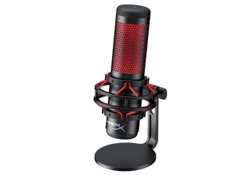 HyperX Quadcast microphone created for gamers and streamers