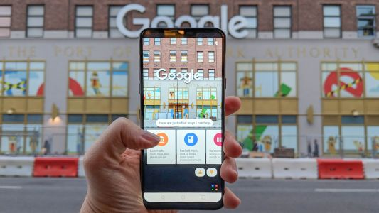 New Google Lens update brings real-time object recognition and text select