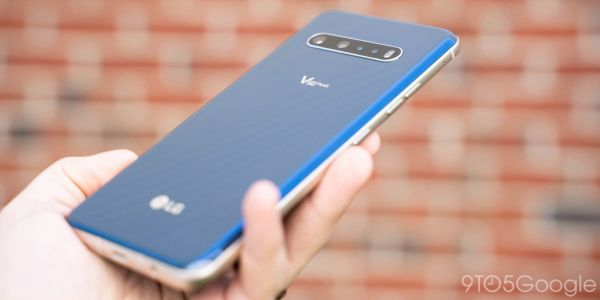 LG V60 ThinQ gets April security update on time