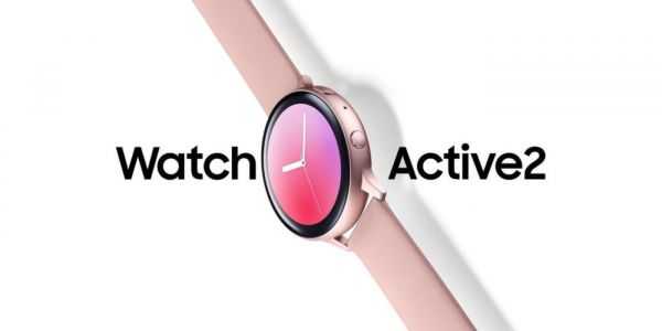 Galaxy Watch Active2 apparently replacing the rotating bezel with a touch sensor