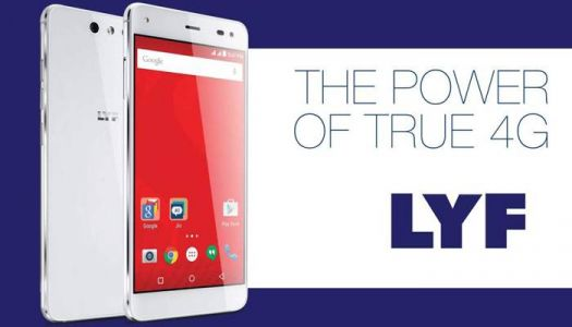 Reliance Jio to release its first 4G handset under the 'LYF' brand