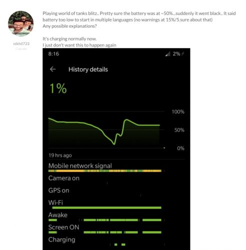 Some OP6 Users Complain About Battery Drain After New Update