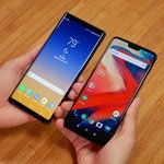 Samsung Galaxy Note 9 vs OnePlus 6: first look