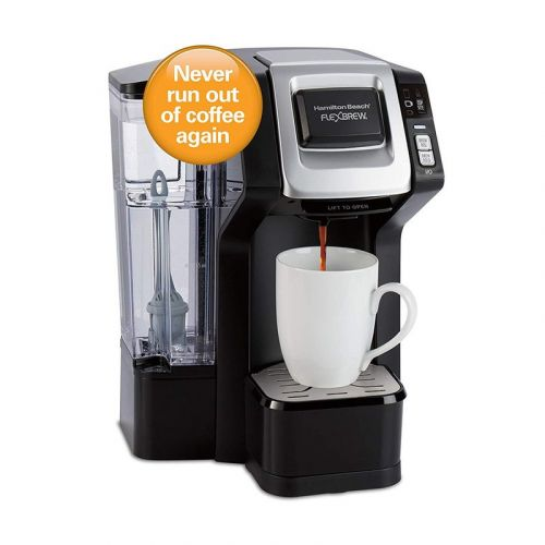 This Hamilton Beach Coffee Maker on sale for $50 can keep your home stocked