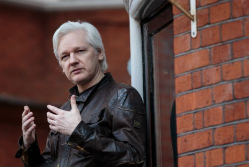 Report: Charges against Assange relate to Russian hacking