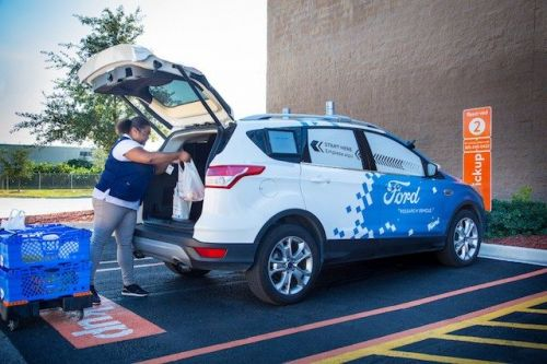 Ford And Walmart Working On Autonomous Delivery Service