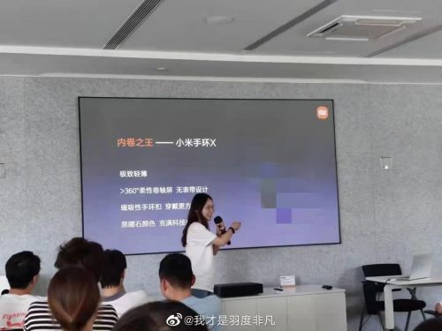 Xiaomi's next Mi Band could have a flexible display that wraps around your wrist