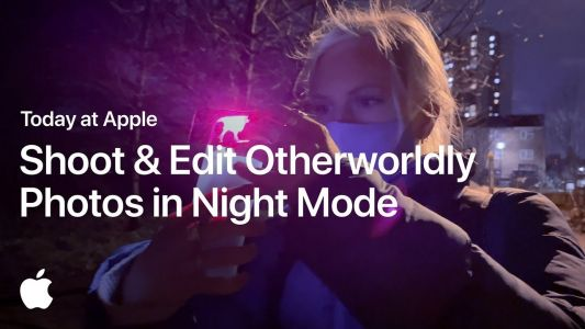 New 'Today at Apple' video shows how to take and edit great photos in Night Mode with iPhone