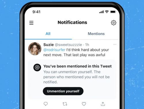 """Twitter may bring an """"unmention"""" tool to help remove yourself from tagged tweets"""