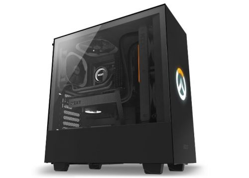 H500 Overwatch Special Edition PC chassis created by Blizzard and NZXT