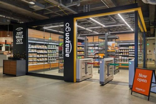 Amazon's Cashierless Stores Find A New Home In Office Lobbies