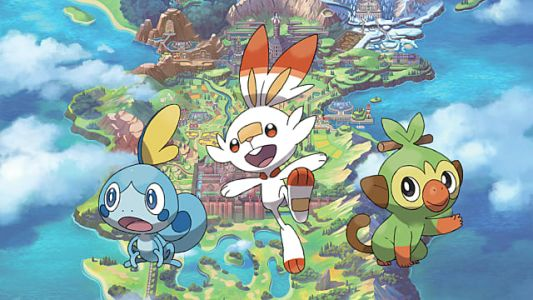 Game Freak Dishes Up Details on Grookey, Scorbunny, and Sobble