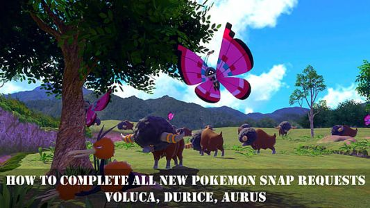 New Pokemon Snap Lentalk Requests Guide: Voluca, Durice, Aurus