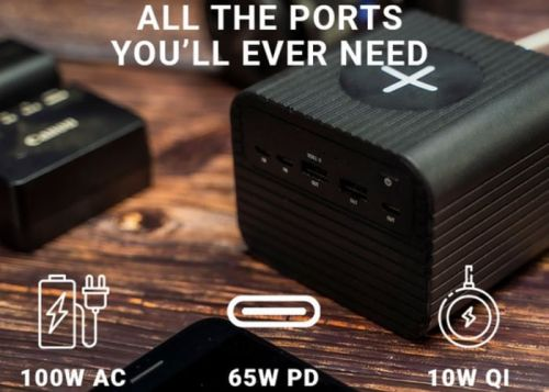 Monster X 100w portable power and wireless charger