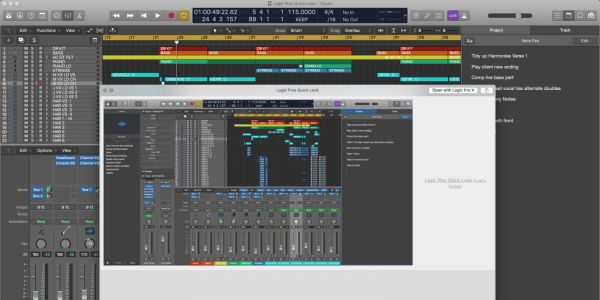 Feature Request: Audio Quick Look previews for Logic Pro sessions in Finder