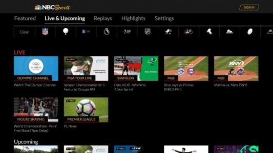 You Can Now Download The NBC Sports App On Android TV Devices