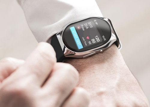 Smart wearable blood pressure monitor offers medical accuracy on your wrist
