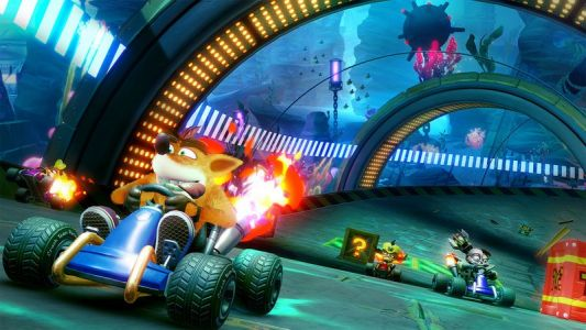 Crash Team Racing Nitro-Fueled is a remaster of a classic kart racer