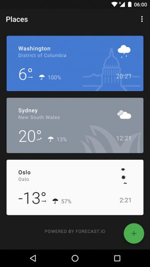 Top 10 Best Android Apps - Weather - July 2018