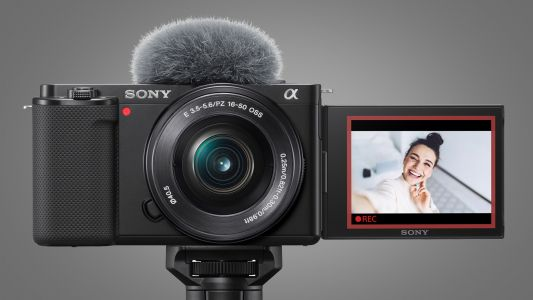 Sony ZV-E10 is an affordable vlogging and streaming camera for YouTubers