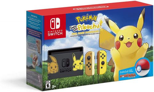 The 'Let's Go Pikachu!' Special Edition Nintendo Switch Bundle With the Poke Ball Plus Is Now Available for Preorder