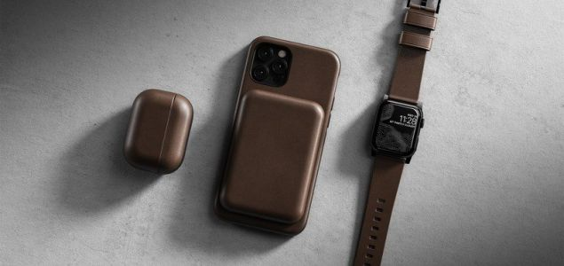 Nomad will sell you a stunning leather cover for your MagSafe Battery Pack